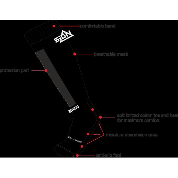 SIGN O Socks Pro
