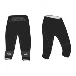 SIGN Pro O Pants Kids 3/4 - svarta orienteringsbyxor