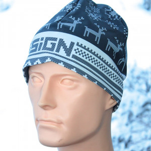 SIGN Hat S2 - Winter grey reindeer