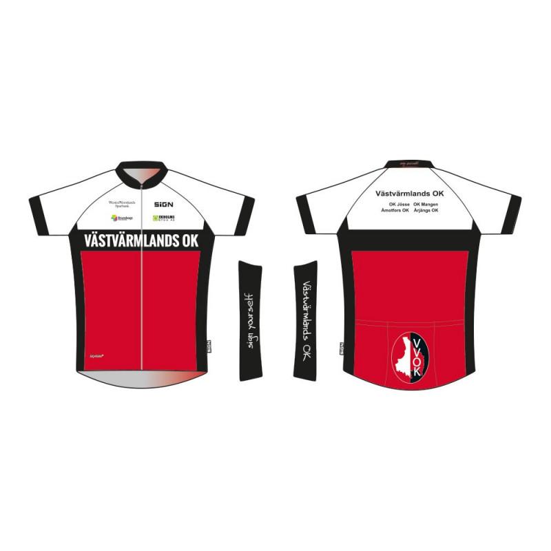 Västvärmlands OK cycle shirt basic