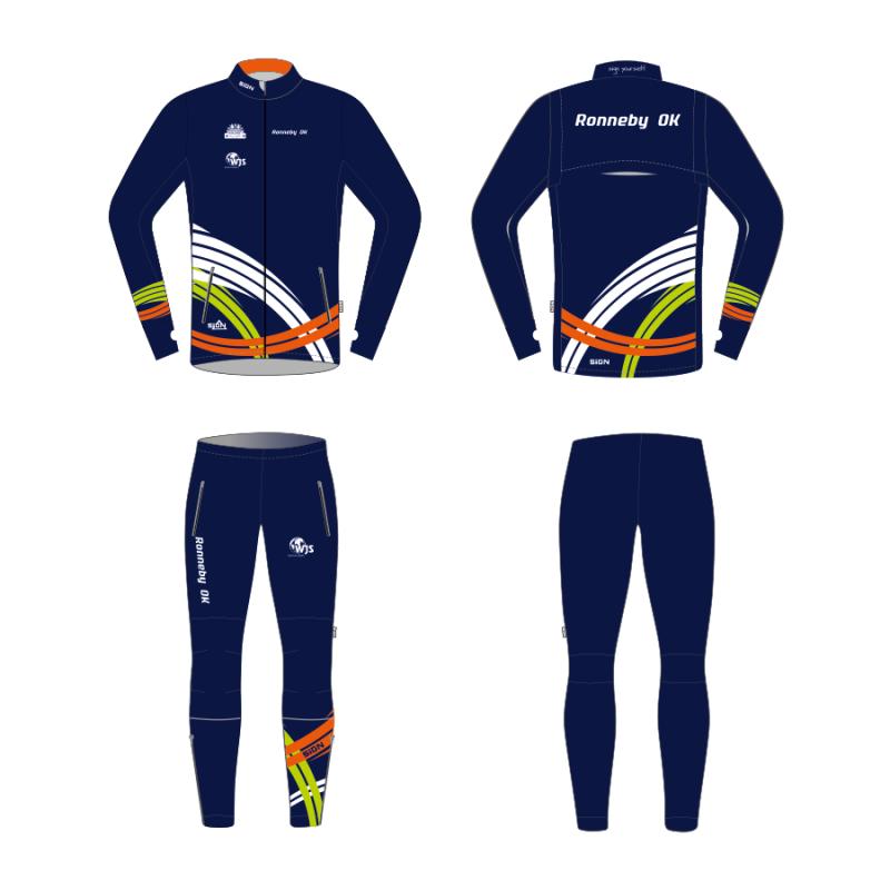 Ronneby OK Track Suit S3 Kids set