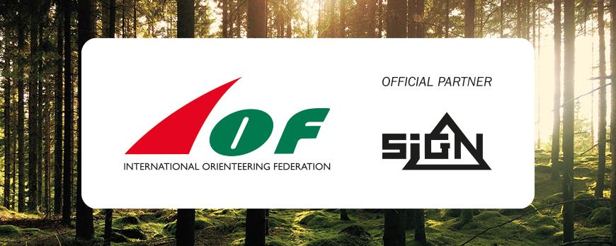 SIGN blir officiell partner till IOF